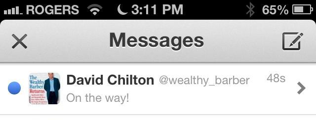 David Chilton Twitter