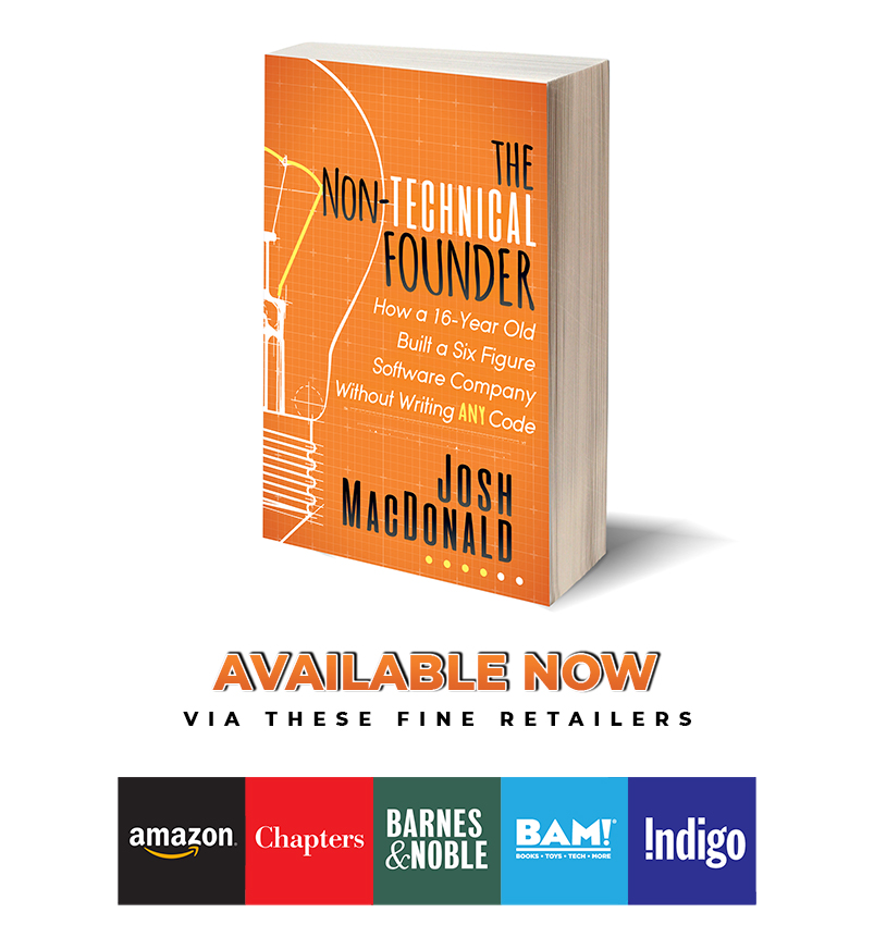 The non technical founder book is available now